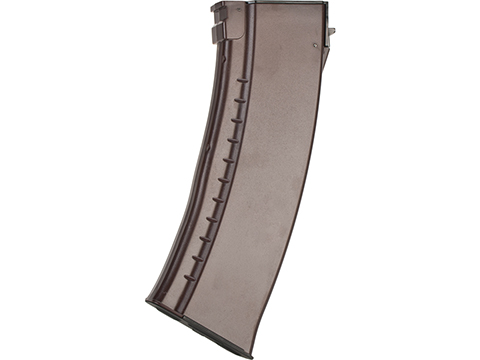 CYMA AK74-Style Magazine for AK Series Airsoft AEG Rifle (Type: 140rd Mid Cap / Plum)