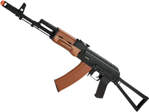 CYMA Advanced AK74 Wolverine Full Metal Real Wood Airsoft AEG