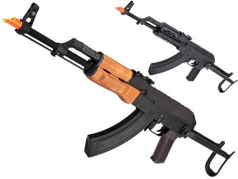 CYMA Standard AKS-47 Airsoft AEG Rifle with Steel Folding Stock