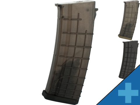 CYMA Bulgarian-Style Hi-Cap Magazine for AK Series Airsoft AEG Rifle