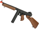 CYMA M1A1 Thompson Submachine Gun Full Metal Gearbox Airsoft AEG - (Package: Gun Only)