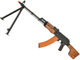 CYMA CM052A Full Metal RPK Airsoft AEG w/ Bipod and Folding Stock - Wood Furniture (Package: Gun Only)
