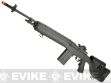 CYMA Full Size M14 Airsoft AEG with Polymer DMR Style Stock - Black (Package: Gun Only)