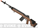 CYMA Full Size M14 Airsoft AEG with Polymer DMR Style Stock - Imitation Wood (Package: Gun Only)