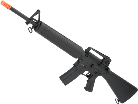 CYMA Full Size M16A3 Airsoft AEG Rifle w/ Lipo Ready Metal Gearbox & Full Stock