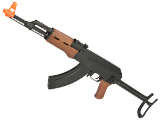 CYMA CM522S AK47S Sportsline Under-Folding Airsoft AK47 AEG Rifle - Simulated Wood Furniture (Package: Gun Only)