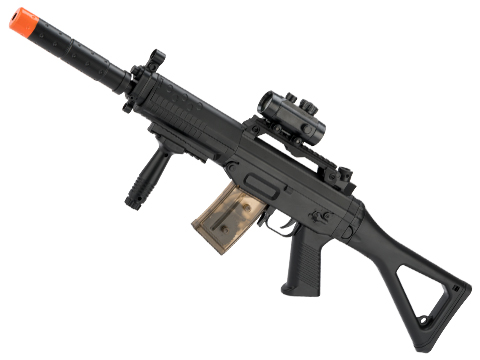 SIG Sauer SIG 552 Full Size Airsoft Lower Power Electric Rifle by Cybergun