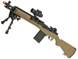 Matrix Field Ops Series M14 SOCOM Airsoft AEG Package by CYMA (Color: Tan)