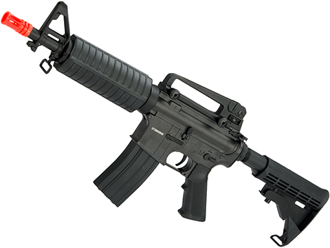 CYMA M4 Commando Full Metal Airsoft AEG (Package: Black / Gun Only)