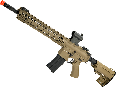 CYMA Sport Full Metal M4 AEG with 13 UX Modular Handguard (Color: Flat Dark Earth)
