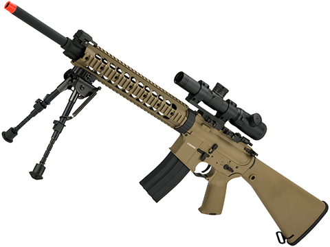 CYMA Sport Full Metal MK12 SPR MOD.1 Airsoft AEG (Color: Flat Dark Earth)