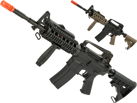 Bone Yard - CYMA Sportsline M4A1 RIS Airsoft AEG w/ Lipo Ready Gearbox (Store Display, Non-Working Or Refurbished Models)