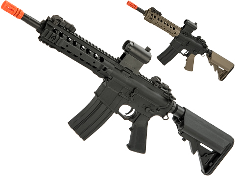 CYMA Sport CQB M4 Airsoft AEG with 8 UX 4 Handguard (Color: Black)