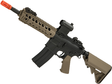 CYMA Sport CQB M4 Airsoft AEG with 8 UX 4 Handguard (Color: Tan)