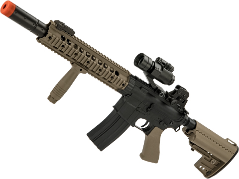 CYMA Polymer Jungle Carbine M4 with RIS Handguard (Color: Tan)