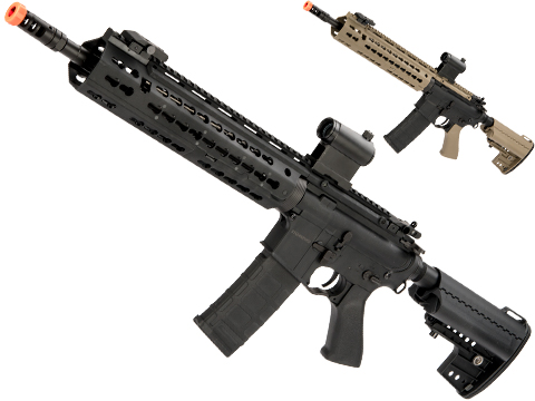 CYMA Keymod-S M4 Airsoft AEG (Color: Black / Polymer / Carbine Length)