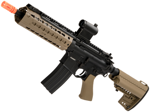 CYMA Keymod-S Full Metal M4 Airsoft AEG (Color: Dark Earth / 11.5)