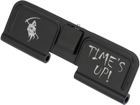 CYMA Dust Cover for M4 Series Airsoft AEG Rifles (Model: Grim Reaper / Time's Up!)