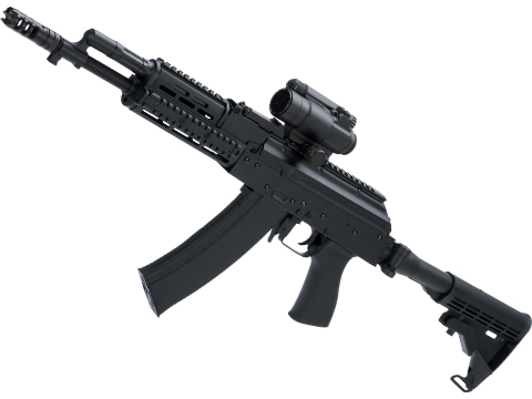 CYMA Stamped Steel Altyn AK74 w/ Folding Buffer Tube Stock Airsoft AEG Rifle (Type: Carbine)