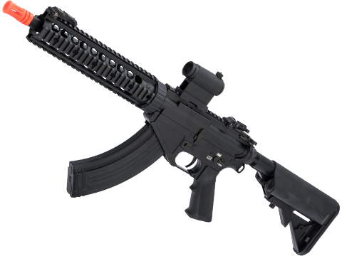 CYMA AR-47 QBS Airsoft AEG Rifle (Model: 10 Quad Rail)