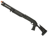 CYMA M3 3-Round Burst Multi-Shot Shell Loading Airsoft Shotgun (Model: Retractable Stock)