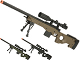 (NEW YEAR'S EPIC DEAL!!!) CYMA Advanced L96 Bolt Action High Power Airsoft Sniper Rifle (Color: Black)