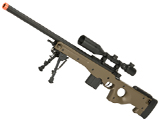 CYMA Advanced L96 Bolt Action High Power Airsoft Sniper Rifle (Color: Tan)