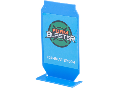 Foam Blaster ePopper Shooting Target for Jet Nerf Boomco Foam Blasters (Color: Blue)