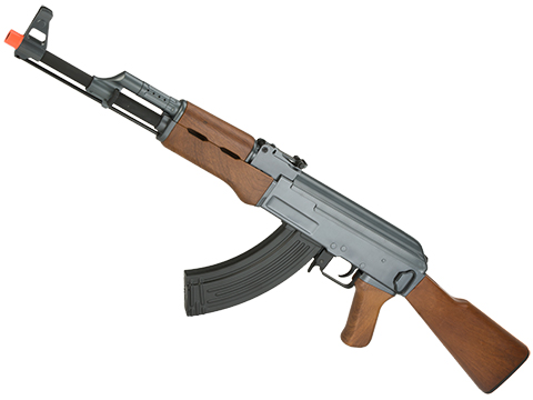 CYMA Sport AK47 Airsoft AEG Rifle w/ Simulated Wood Furniture (Package: Gun Only)