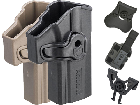 Matrix Hardshell Adjustable Holster for P320 Carry Series Pistols