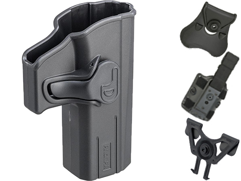 Matrix Hardshell Adjustable Holster for CZ Shadow 2 Series Pistols (Type: Black / No Mount)