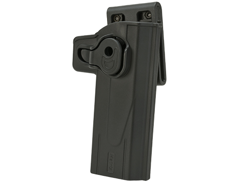 Matrix Hardshell Adjustable Holster for STI Hi-Capa 2011 Series Pistols (Type: Black / Belt Attachment)