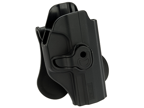 Matrix Hardshell Adjustable Holster for P99 QA Series Pistols Airsoft Pistols (Mount: Paddle)