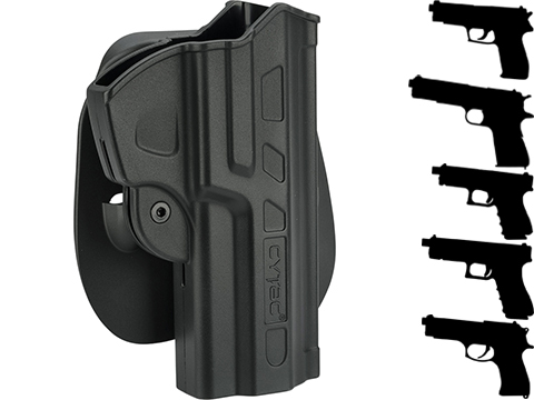 Cytac Hardshell FastDraw Holster (Model: Glock 19 23 32 / Paddle Mount)