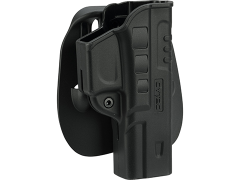 Cytac Hardshell FastDraw Holster (Model: Glock 17 22 31 / Paddle Mount)