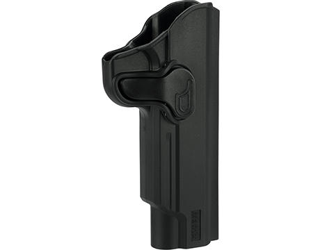 Matrix Hardshell Adjustable Holster for 1911 Series Airsoft Pistols (Type: Black / No Mount)