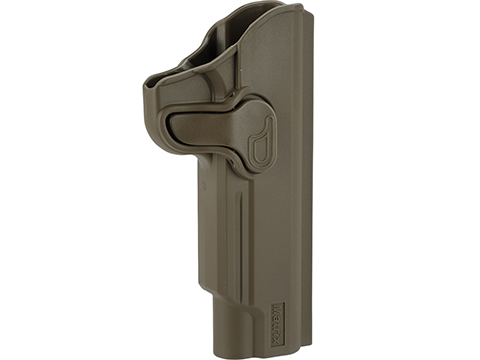 Matrix Hardshell Adjustable Holster for 1911 Series Airsoft Pistols (Type: Flat Dark Earth / No Mount)