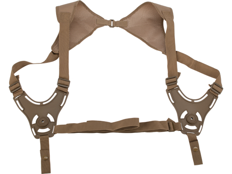 Cytac  Shoulder Holster Harness for Cytac Hardshell Holsters (Color: Flat Dark Earth)