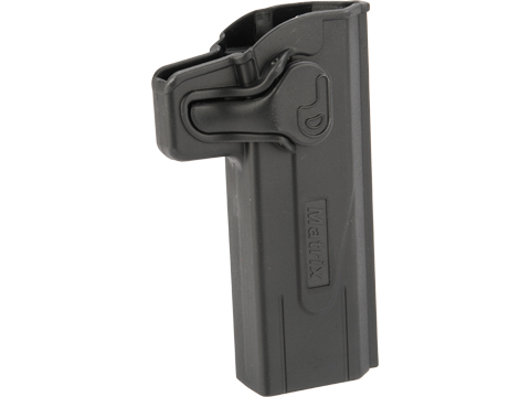 Matrix Hardshell Adjustable Holster for STI Hi-Capa 2011 Series Pistols (Type: Black / No Attachment)