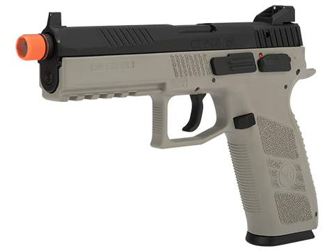 ASG CZ P-09 Suppressor Ready CO2 Airsoft GBB Pistol (Color: Urban Grey)
