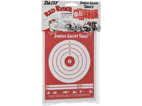 Daisy Red Ryder Paper Targets (Amount: 25 ct)