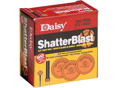 Daisy Shatterblast 2 Clay Targets Package of 60 Targets