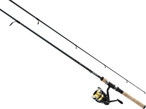 Daiwa D-Shock DSK-B Reel and Fiberglass Rod Combo