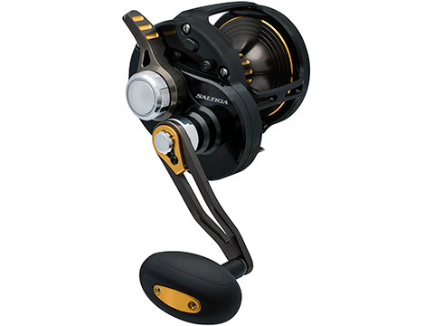 Daiwa Saltiga Hyper Speed Lever Drag Conventional Reel (Model: SALD60HDF)