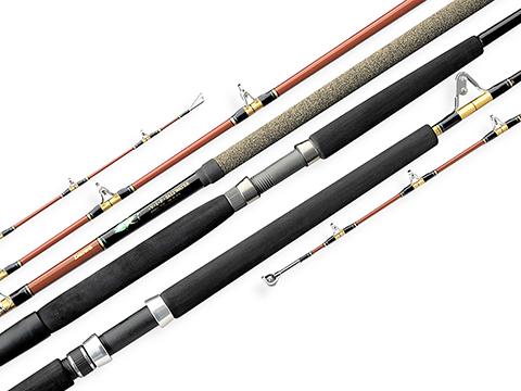 Daiwa V.I.P® Conventional Saltwater Boat Rods