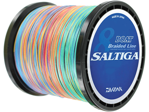 Daiwa Saltiga Boat Braided Line for Dendoh Style Fishing