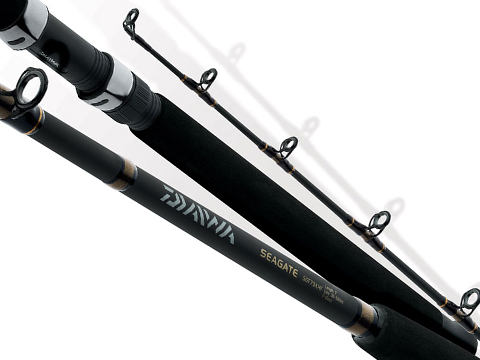 Daiwa Seagate® Boat Stand Up Fishing Rod (Model: SGT60XHR-RS)