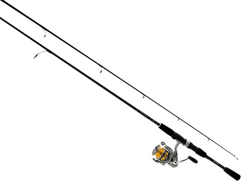 Daiwa Revros Freshwater Spinning Fishing Rod & Reel Combo (Model: REV20-4BI/G602M)