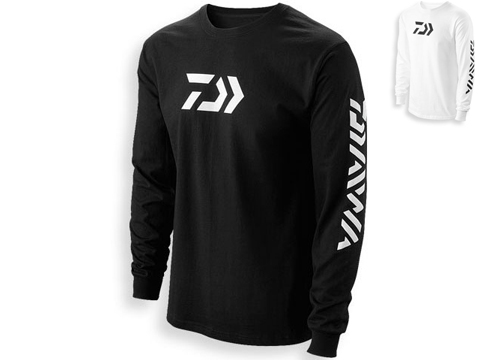 Daiwa Vector Print Logo Long Sleeve Shirt