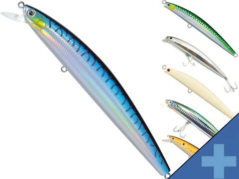 Daiwa Salt Pro Minnow Fishing Lure (Color: Blue Mackerel D24 / 6 Floating)
